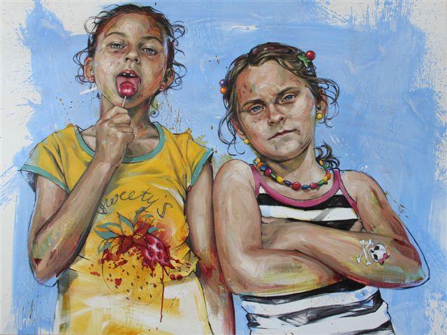 """""""Sweety's"""" von Susanne Kircher-Liner, 2012"""