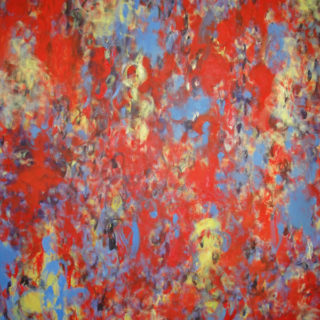 """""""Zinnober"""", Öl auf Leinwand, 140x110 cm, 2012"""